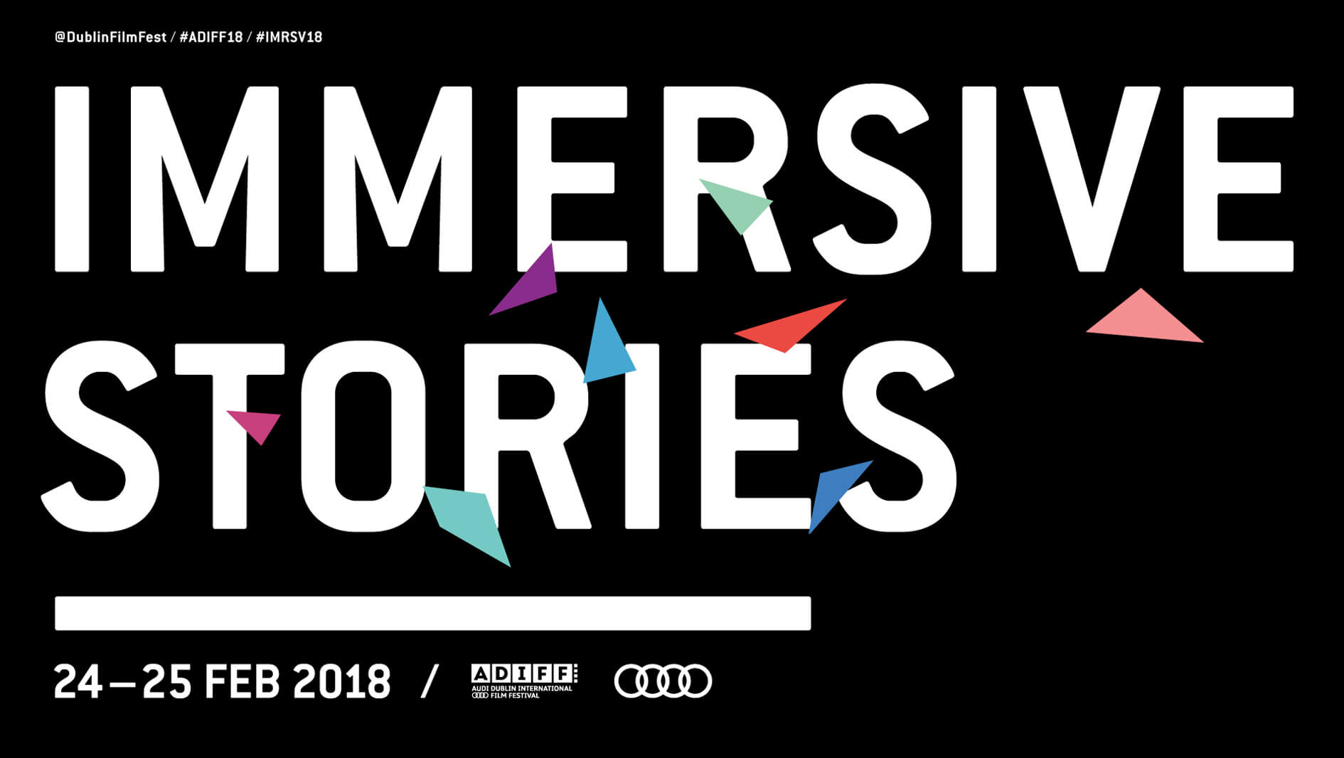 DIFF / Immersive Stories title slide