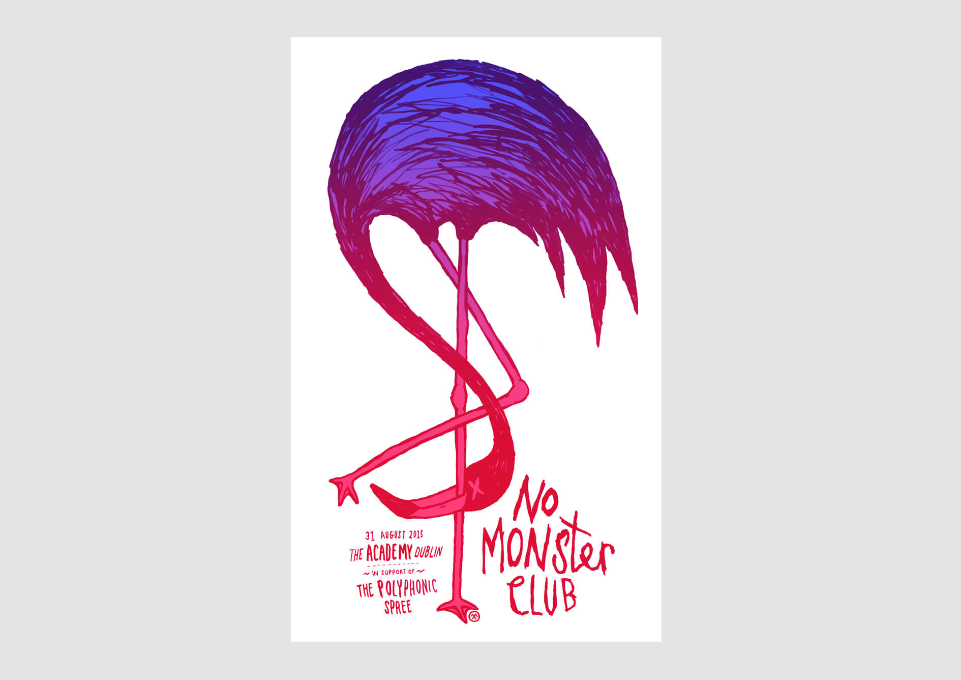 No Monster Club Poster